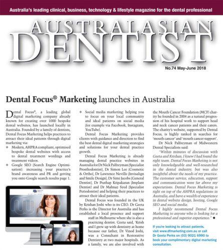 Australasian dentist