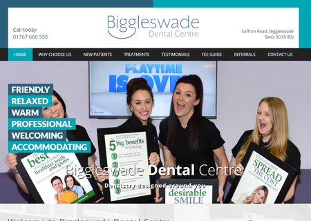 Ballard and Tucker LTD trading as Biggleswade Dental Centre