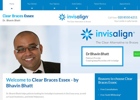 Clear Braces Essex