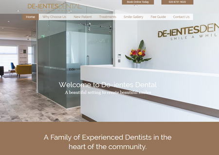 The cosmetic dental practice